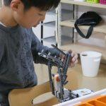 [3年生レゴロボ教室]  ピンポン発射ロボ!
